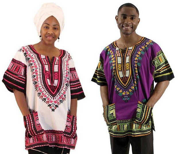 African dashiki shirts - b