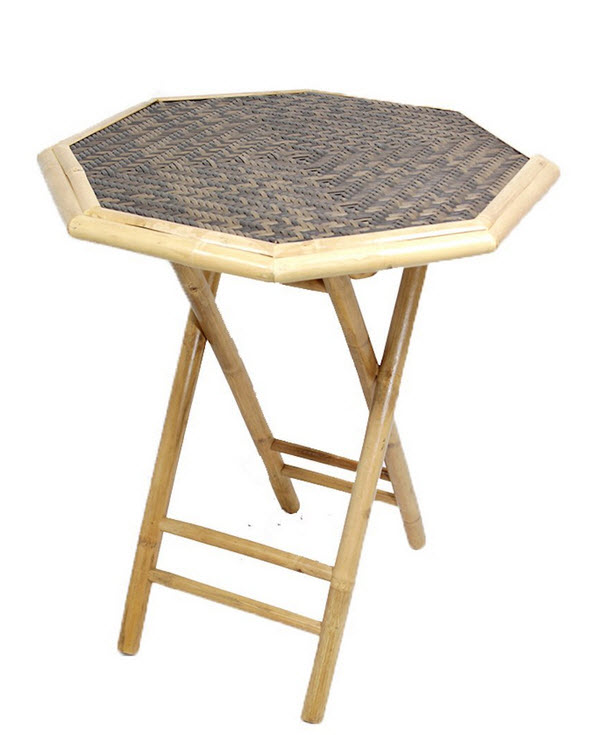 Bamboo folding tables - b