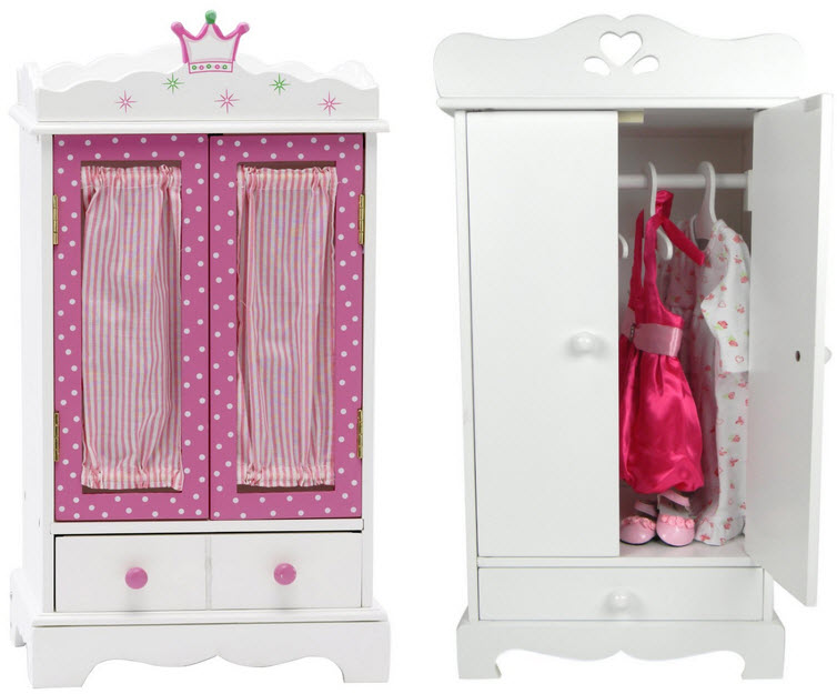 Closet for doll clothes - B
