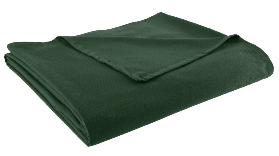 Dark green bedspread - B
