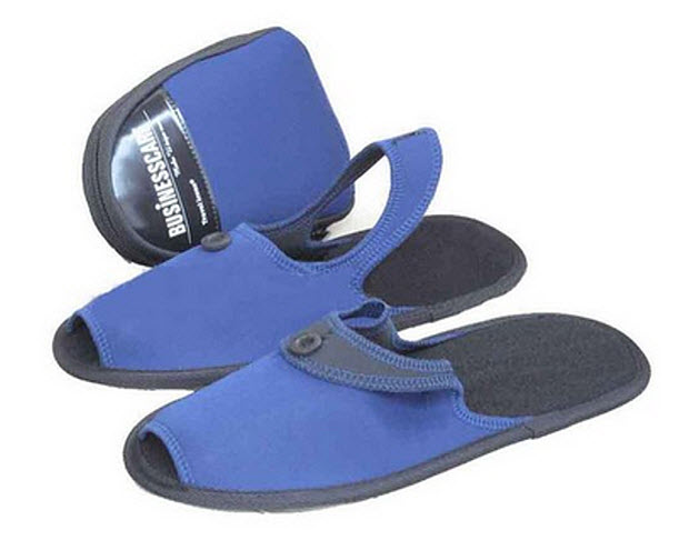 Mens travel slippers