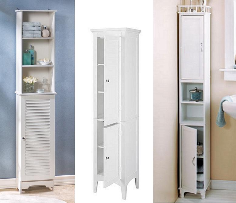 Narrow bathroom cabinets - B