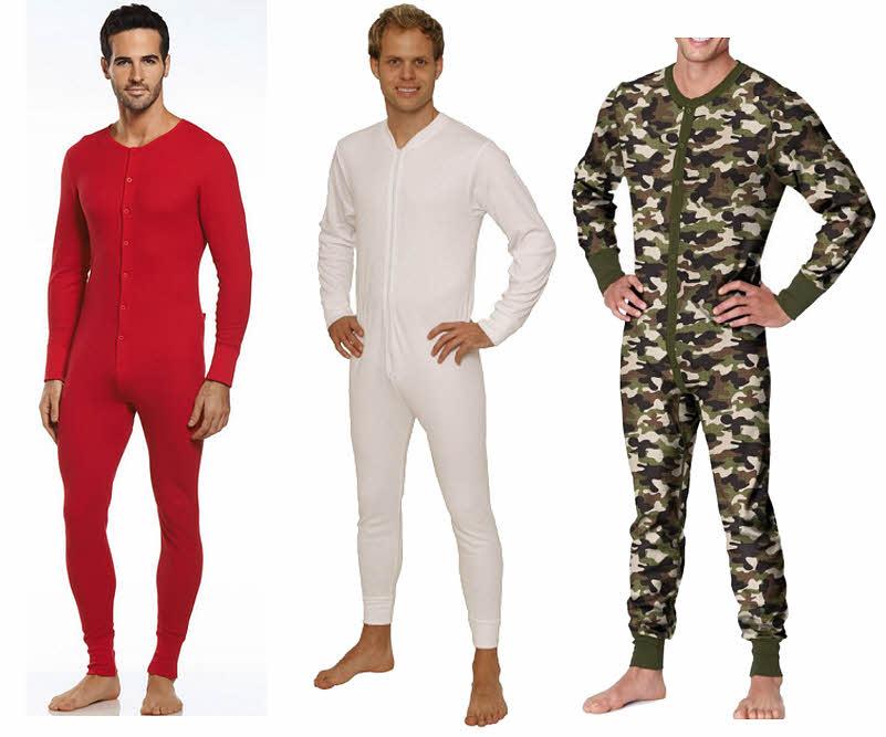 One piece underwear for men - b