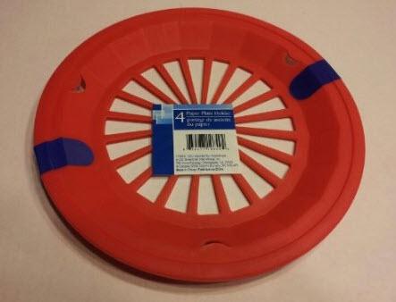 Plastic Paper Plate Holders