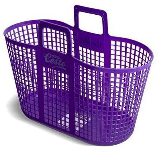 Plastic beach basket - b