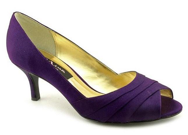 Purple dress shoes for women - b