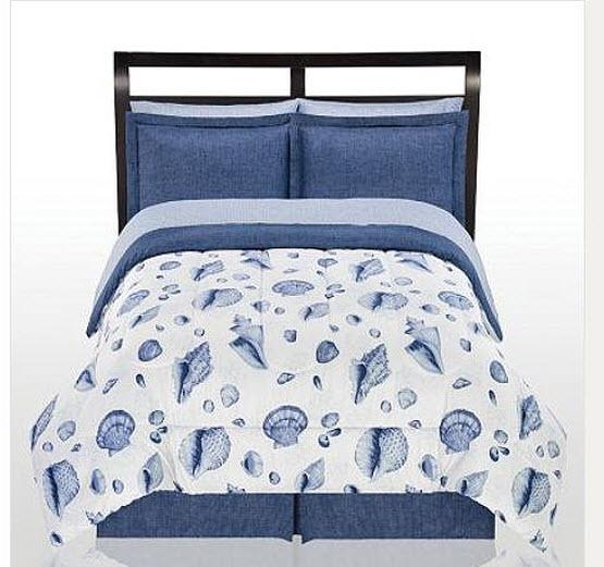Seashell bedding set - B