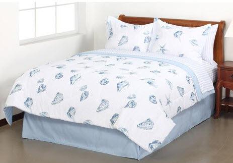 Seashell bedding set - c