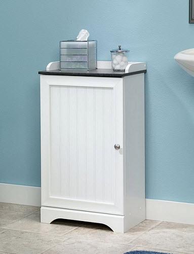 Small bathroom storage cabinet - c