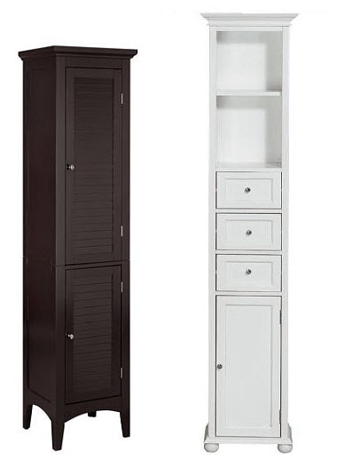 Tall Narrow Bathroom Storage Cabinet Choozone