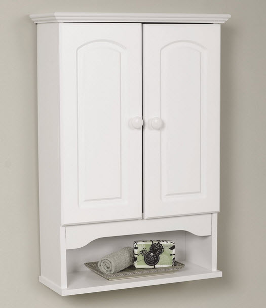 Wall mounted bathroom storage cabinets - b2