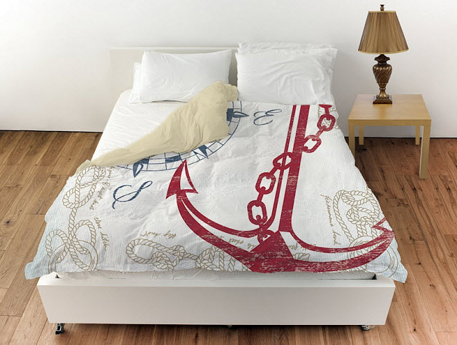 anchor design bedding sets