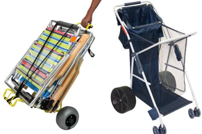 big wheel beach cart