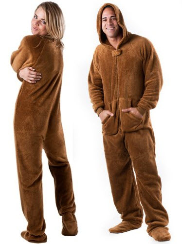 brown onesies for adults