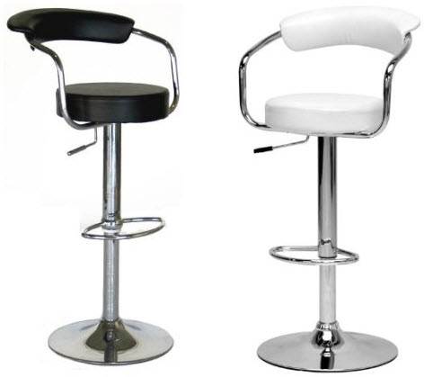 cool bar stools with arms
