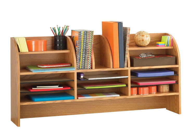 desktop hutch organizer