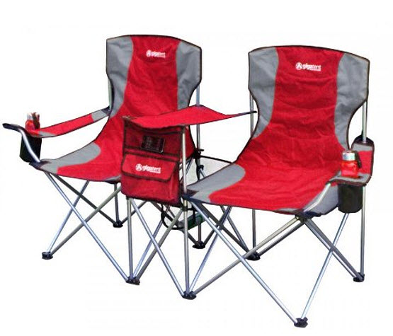 double folding camping chairs