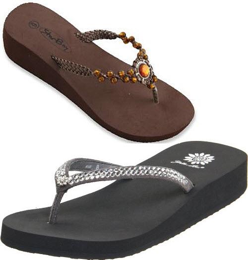 dressy flip flops for women
