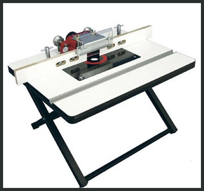 folding router table