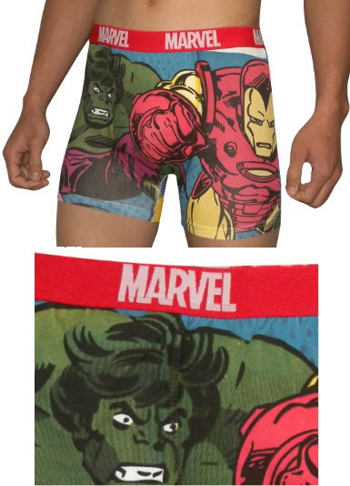 incredible hulk underwear for men