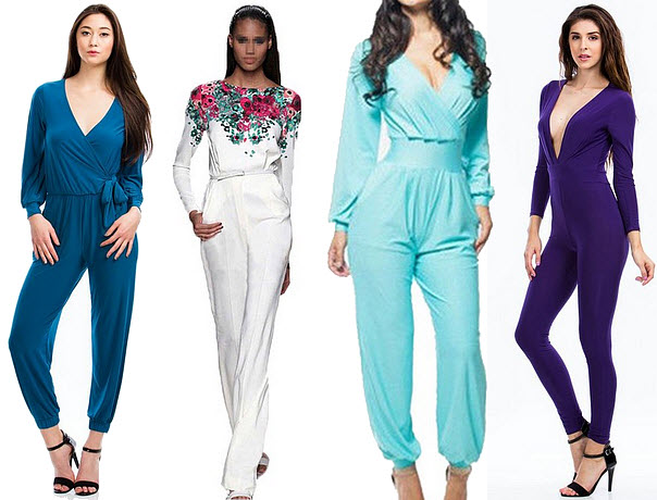 jumpsuits with sleeves for women