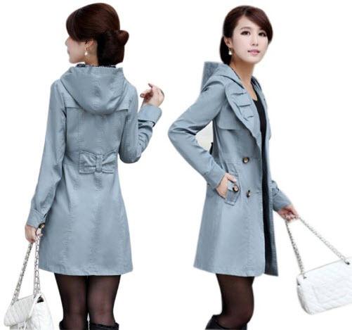 light blue coat