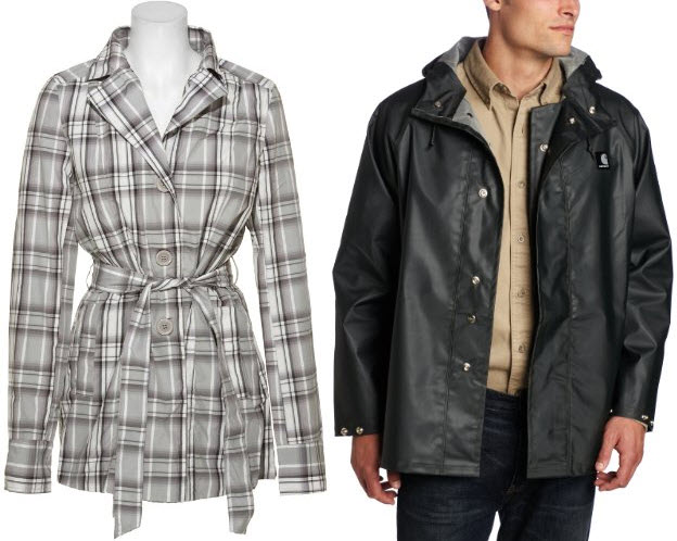 light rain coat