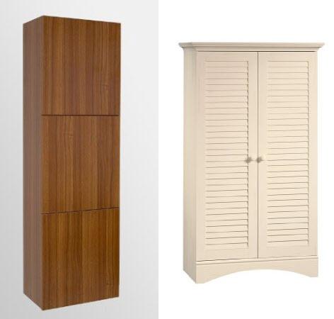 linen storage cabinets