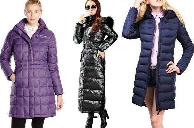 long puffer jackets