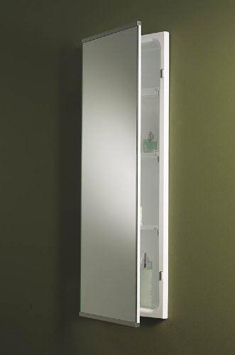 narrow bathroom wall cabinet