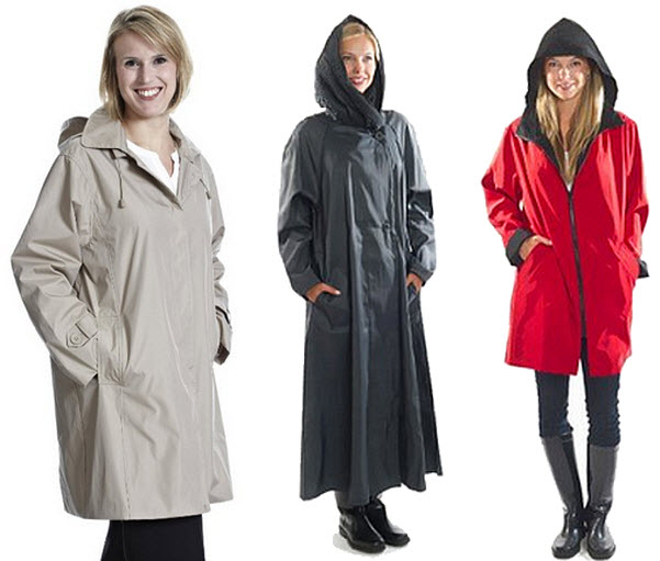 petite raincoats with hoods
