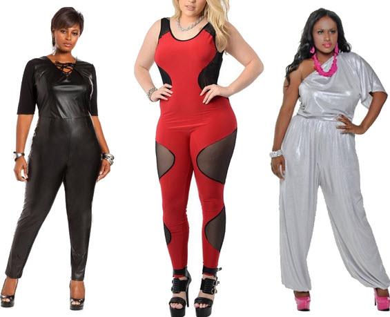plus size club jumpsuits