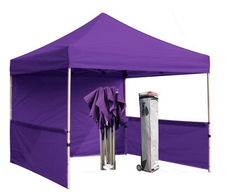 purple pop up canopy tent