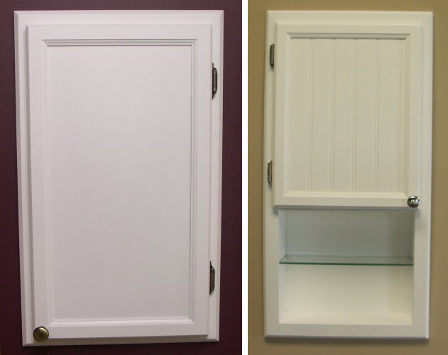 recessed medicine cabinets without mirror - b
