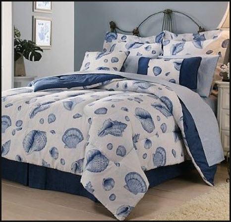 seashell bedding set
