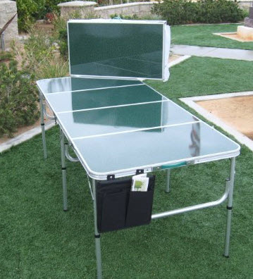 suitcase folding table