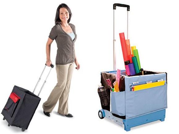 teacher bags with wheels