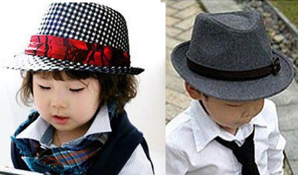 toddler fedora hats for boys & girls