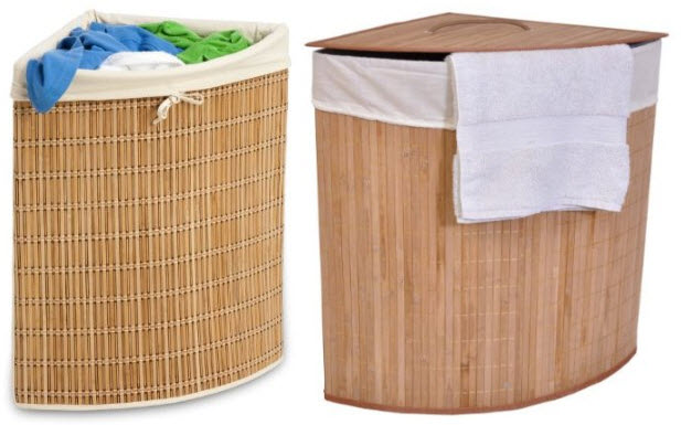 triangle laundry hamper