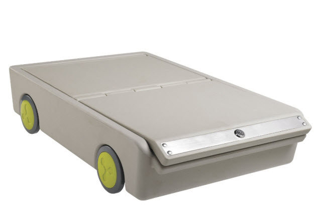 under the bed storage containers with wheels