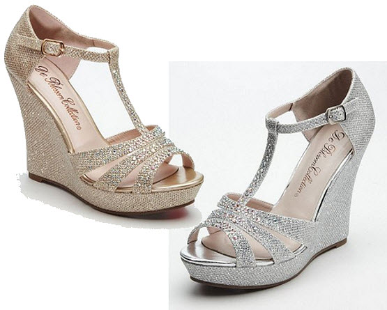 wedge sandals for wedding