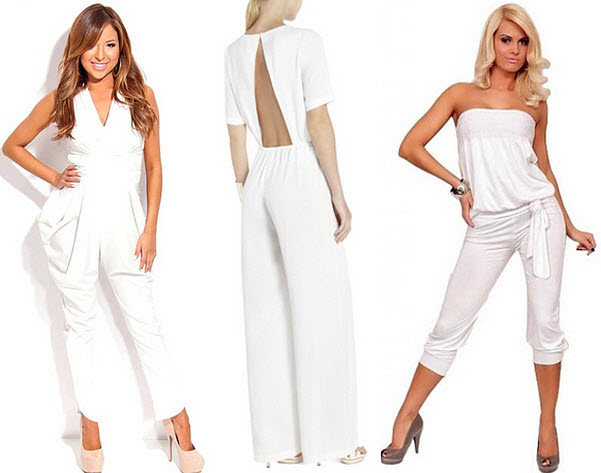 white club jumpsuit