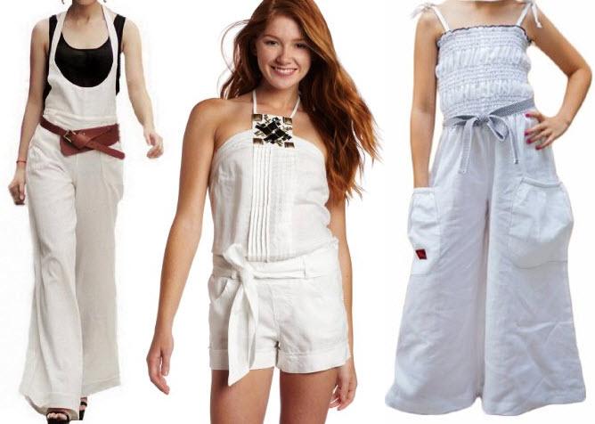 white linen jumpsuit for women